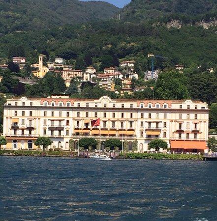 Grand Hotel Menaggio from the water