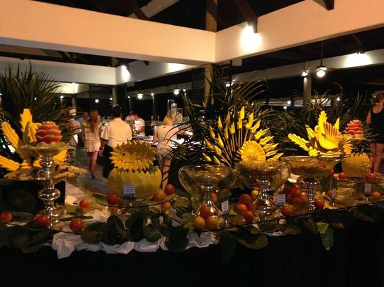 Bavaro Princess All Suites Resort, Spa & Casino : Buffet
