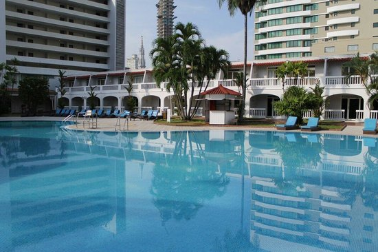 Hotel El Panama: Piscina