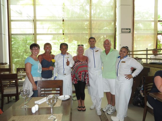 Dreams Riviera Cancun Resort & Spa: Fidencio, Martin and Yolanda!  You guys were the BEST!!!!