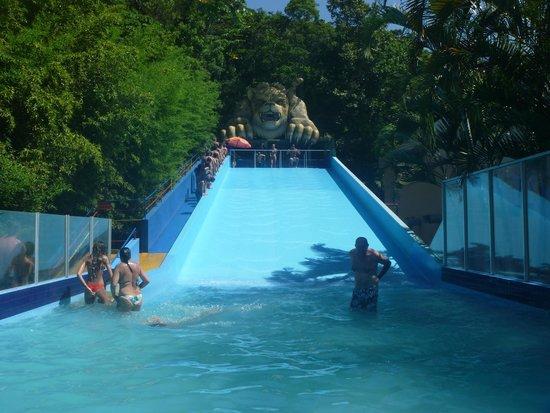 Costa Norte Ingleses Hotel: Parque acuático a unos kilómetros del hotel