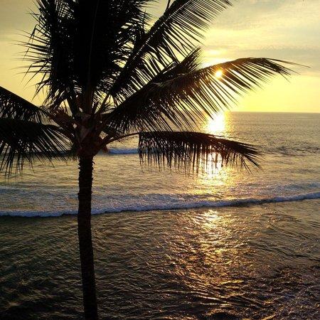Kona Banyan Tree: sunset from balcony