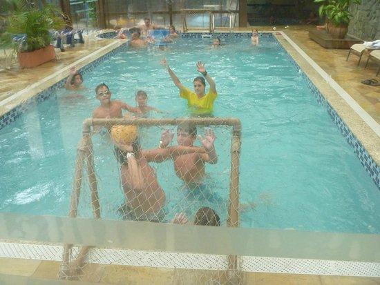 Costa Norte Ingleses Hotel: Piscina interna climatizada