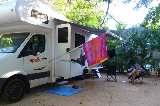 Cable Beach Caravan Park : Our great site