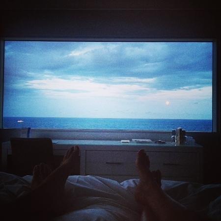 Sonesta Fort Lauderdale Beach: stunning king corner view- rm 903