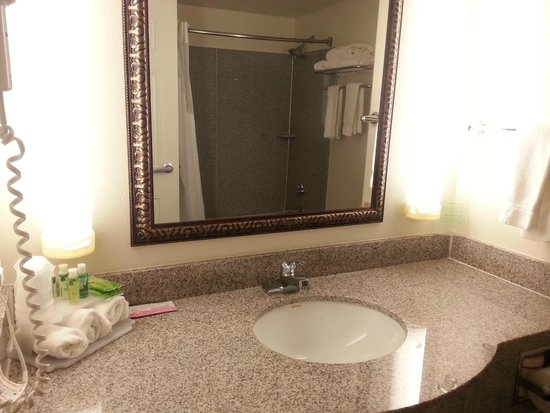 Holiday Inn Express Santa Rosa: vanity