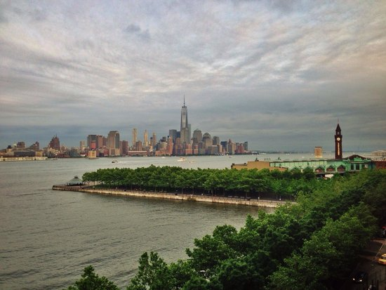 W Hoboken: View from the hotel room