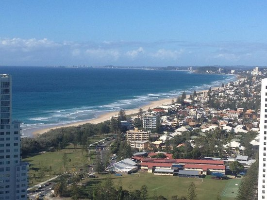 Peppers Broadbeach: The view from the 32nd floor