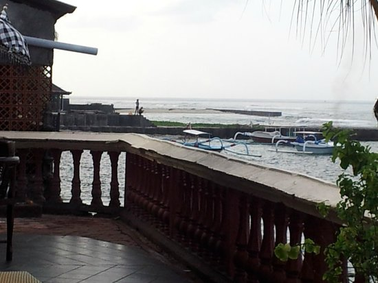 Pondok Bambu: View from dining area