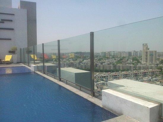 Hilton Garden Inn Gurgaon Baani Square India: View from the terrace II