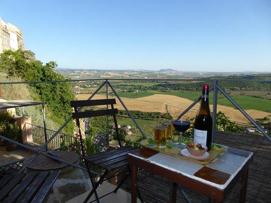 La Casa Grande: View from our balcony