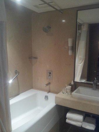 Hilton Garden Inn Gurgaon Baani Square India: Bathroom is well done