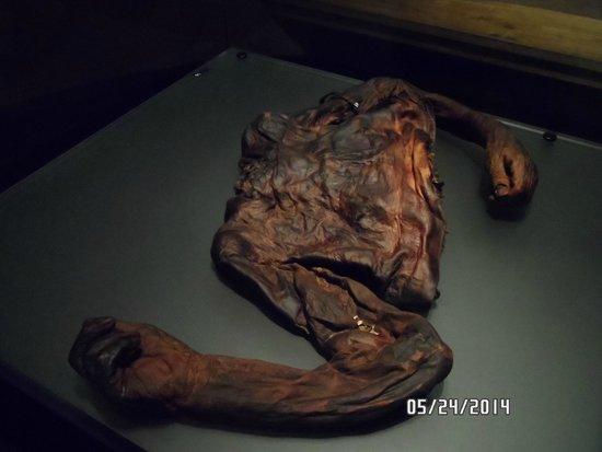 Museo Nacional de Arqueología de Irlanda: bog man