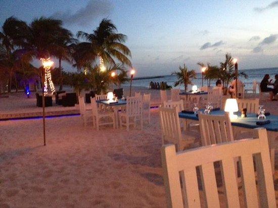 Divi Aruba Phoenix Beach Resort: Dinner Divi Phoenix Aruba style