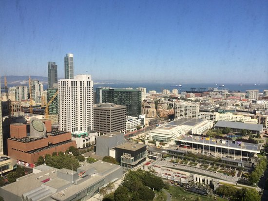 San Francisco Marriott Marquis : View lounge