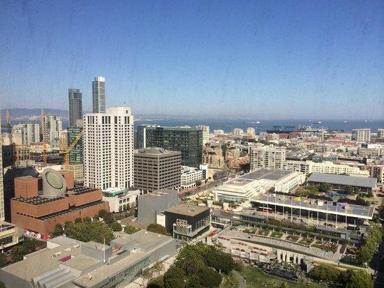 San Francisco Marriott Marquis: View lounge