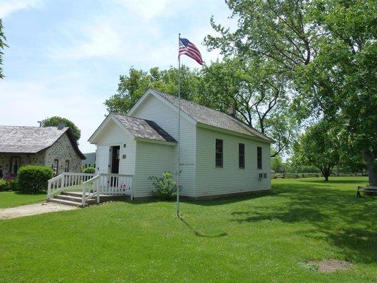 Ozaukee County Pioneer Village: school house