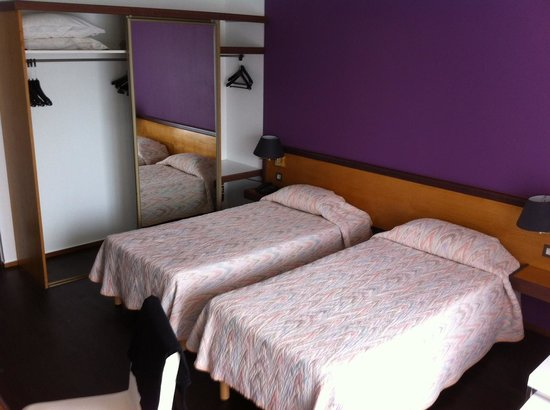 Hotel de la Pointe de Mousterlin : notre chambre