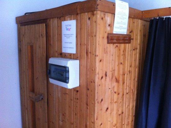 Hotel de la Pointe de Mousterlin : le sauna