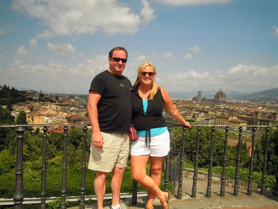 Rudy's Touring Service - Driving & Walking Tours: A view of Florence