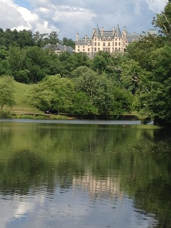 Biltmore Estate: From the lagoon