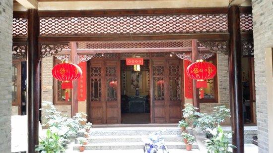 Hidden Dragon Villa : entrance to lobby