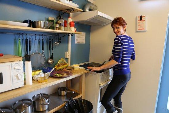 Akureyri Backpackers : Kitchen