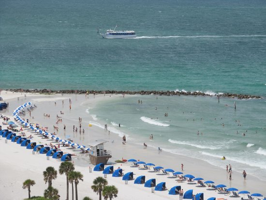 Hyatt Regency Clearwater Beach Resort & Spa: View from room