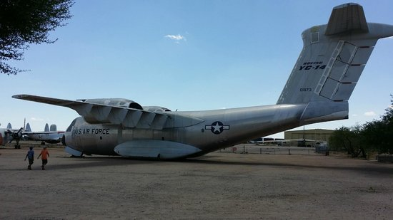Pima Air & Space Museum: One of the many planes outside
