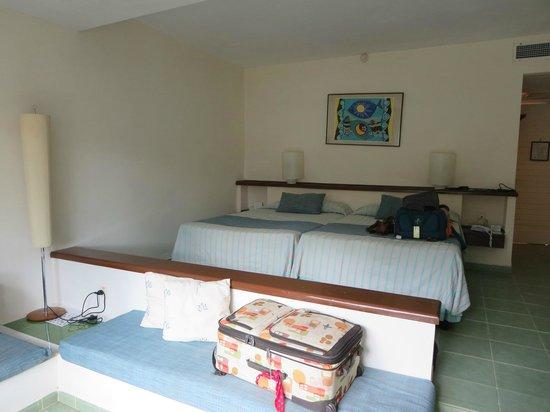 Melia Las Antillas: our room