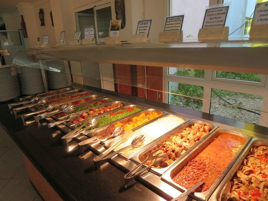 Melia Las Antillas: Buffet