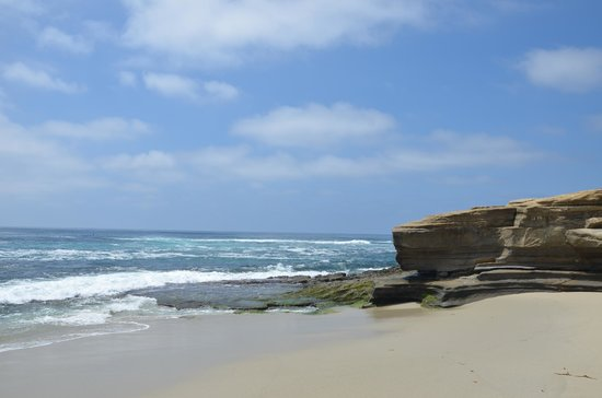 La Jolla Cove: Beach area