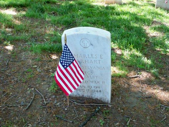 Gettysburg National Cemetery: Head stone