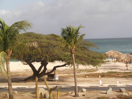 La Cabana Beach Resort & Casino: View from balcony