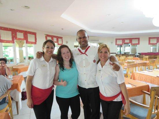 Melia Las Antillas: Our favorite trio!