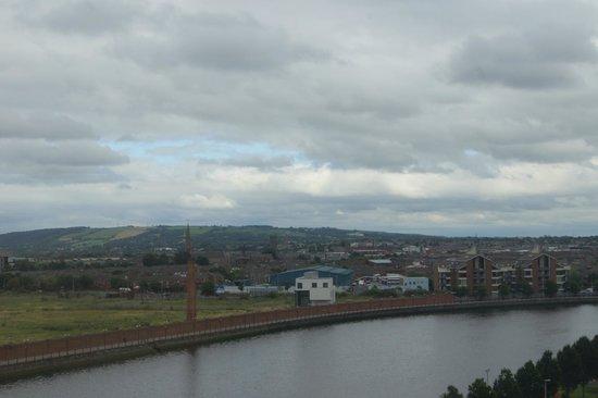 Hilton Belfast: Vista desde la habitación