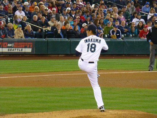 Safeco Field : On the mound