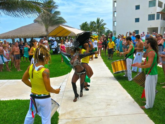 Secrets Silversands Riviera Cancun: World cup pre-party