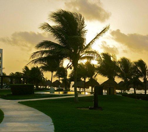 Secrets Silversands Riviera Cancun: sunrise on the resort