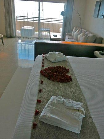 Secrets Silversands Riviera Cancun : ocean front room 3312