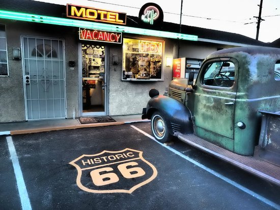 Office of Route 66 Motel