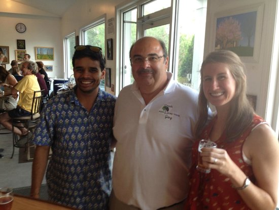 Crush Beer & Wine Tours: Us with our tour guide Gary