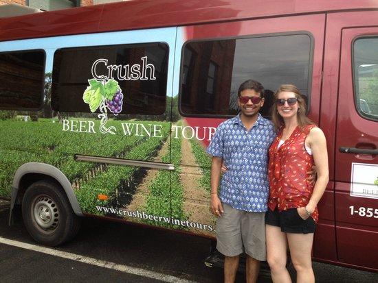 Crush Beer & Wine Tours: The van