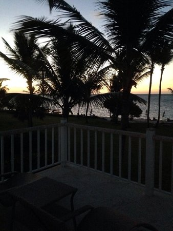 Tortuga Bay Hotel Puntacana Resort & Club: Faces East- get up early for a gorgeous sunrise