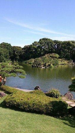 Kiyosumi Teien: 庭園