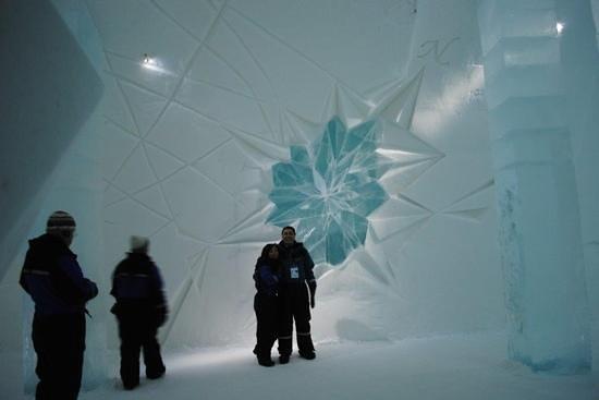 Icehotel: dentro do hotel