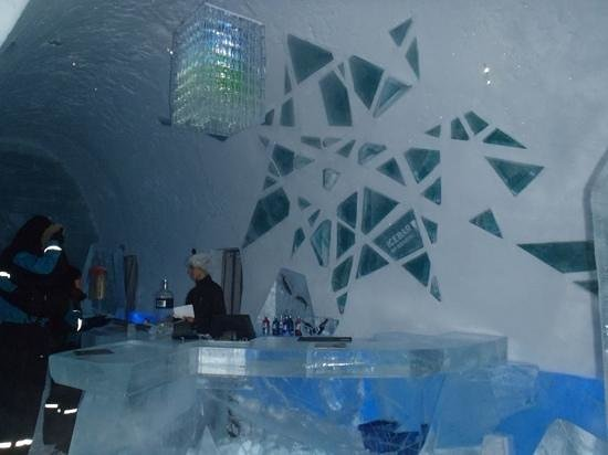 Icehotel: bar