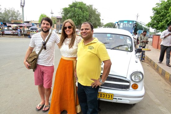 India By Car and Driver - Day Tours: Our guide in Agra