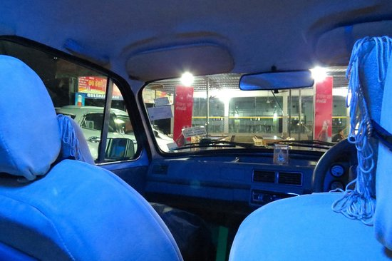 India By Car and Driver - Day Tours: Inside the car