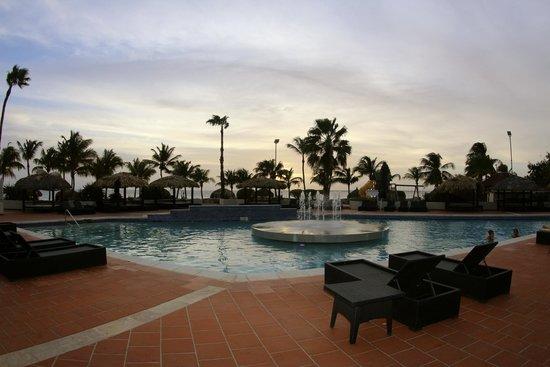 Plaza Resort Bonaire : pool area